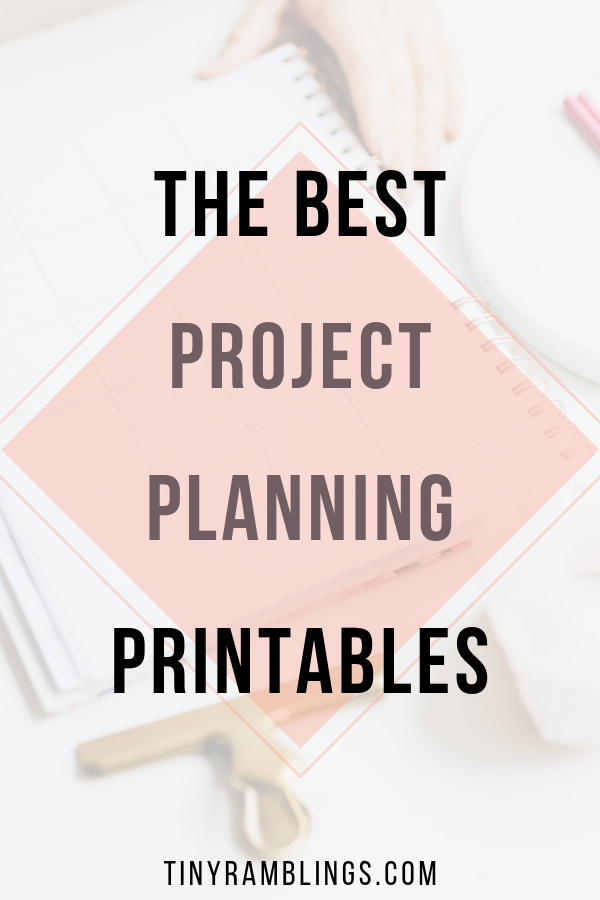 project-planner-printable